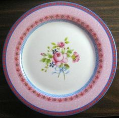 Decorative Dishes - Hot Pink Rose Shabby Chic Rose Cottage Plate L, $24.99 (http://www.decorativedishes.net/hot-pink-rose-shabby-chic-rose-cottage-plate-l/)
