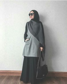 58 ideas for dress pattern simple women style Islamic Fashion, Muslim Fashion, Modest Fashion, Girl Fashion, Fashion Outfits, Womens Fashion, Street Hijab Fashion, Abaya Fashion, Modest Outfits