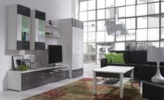 Meble Wenecja – Zestaw 3 Tv Wall Design, Komodo, Verona, Shelving, Designer, Divider, Interior, Room, Furniture