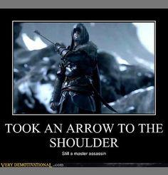 Assassins- Like Superman but more gritty badass.