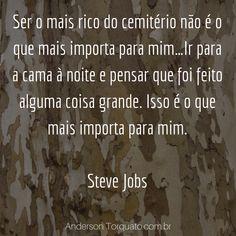 Frases Negócios Sucesso Steve Jobs, Marketing Digital, Entrepreneurship, Social Networks, Frases