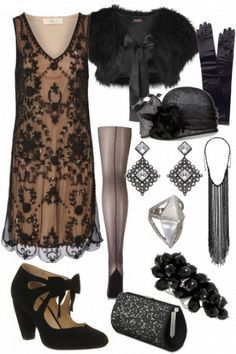 I love the 20s! If only fashion was still like this!