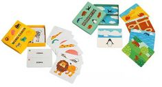 Free printable cards - picture matching, word and picture, silhouette matching, every day objects
