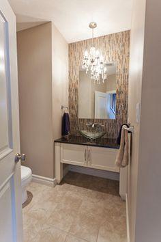 64 best bathroom lighting ideas images on pinterest bathroom light 19 ways to go wild with powder room lighting aloadofball Image collections