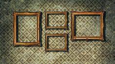 Antike Bilderrahmen benötigen eine besondere Reininung (Quelle: Thinkstock by Getty-Images)