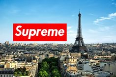 Supreme x Paris