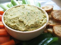 Hummus made with Indian spicing