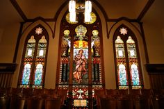 Stained Glass Windows, Trinity United Methodist Church