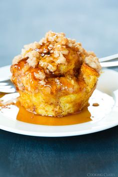 Jimmy Johns Day Old Bread  - Pumpkin French Toast Muffins with Cinnamon Steusel Topping