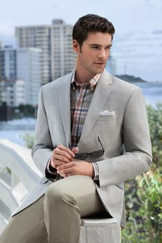 #StyleTip Colors like sage and orange will  help you avoid a boring business casual look.