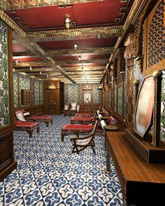 Titanic Turkish Bath IV by Hudizzle.devianta...