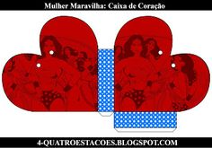 Kit festa infantil mulher maravilha, completo gratuito Alice, Crafts, Teachers' Day, 4 Years, Party Kit, Boxes, Kids Part, Kitty Party, Wonder Woman