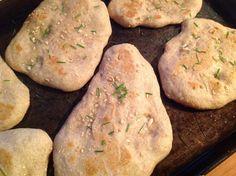garlic sourdough naan
