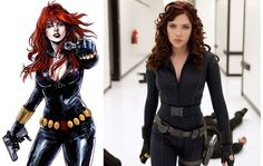"""I got the Black Widowon the """"Which Heroine Should You Cosplay For Comic Con?"""" quiz on BuzzFeed! Who did you get? Click to take the quiz now!"""