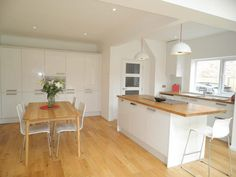 living dining kitchen photo