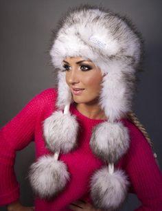 Faux Fur Vests, Winter Wear, Mittens, Hoods, Fur Coat, Canada, How To Wear, Jackets, Fashion