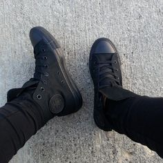 black converse. Love the fact that I actually own something on pinterest.