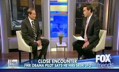 REVELAÇÃO: Piloto de Barack Obama Fala sobre o Encontro com UFO para a FOX News