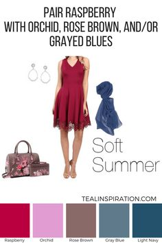 How to Wear Red if You're a Soft Summer