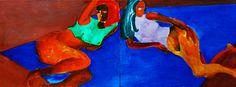 "Yury Ermolenko, ""ANSELM MORE WILL NEVER COME""(""FLASH"" project) 1999, oil on canvas, 105x260 cm. #YuryErmolenko #юрийермоленко #ЮрийЕрмоленко #yuryermolenko #юрийермоленкохудожник #painting #живопись #art #contemporaryart #modernart #fineart #искусство #texture #artwork #picture #RapanStudio #exhibition #colour #hotgirls #nude #nudepainting #eroticpainting #eroticart #hot #sexy #flash #colorful #expressive #metaphysics #oilpainting #humanbody #figurativeart #nudeart #figurative #artgallery"
