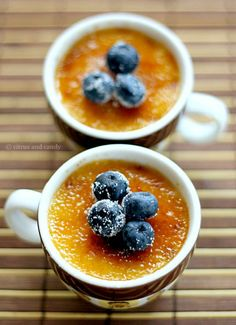 "Eggnog Crème Brulee   .... I would love to make this but I don't own a ""blowtorch""  ... curious, whom among my friends has a blowtorch in their kitchen, much less handy"