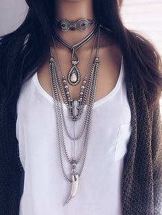 Colar Pearl - Beth Souza Acessórios,colares boho atacado,mix de colares,bijoux finas atacado,bijias,feira bijoias,colares da moda,colar corrente,colar dente,venda bijuterias atacado,kit de colares, vários colares