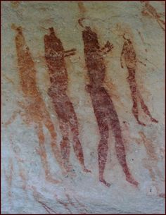 STAR GATES: WHO ARE THESE PEOPLE???  what is the message that they left here for us on earth?? What do you see??  San Rock Art