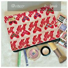 I just discovered this while shopping on Poshmark: HPHandmade makeup bag, pouch, clutch, purse.. Check it out! Price: $24 Size: OS
