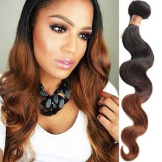 12 -30  Ombre 1B/4/30# Human Hair Brazilian Virgin 50g 6A Grade Wigiss Product