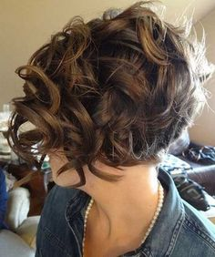 Short Pixie Haircuts for Curly Hair With Fringes 2016
