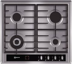 T23R46N0   Bring sophistication and functionality into your kitchen with this stainless steel gas hob. Featuring user friendly bevelled oval front controls and cast iron pan supports which are durable and tougher looking. Features ◾3.3kW wok burner ◾Automatic re-ignition ◾1 stage residual heat indicator ◾Warning lights ◾2 piece black cast iron pan supports with protective rubber feet ◾582 mm wide ◾Black glass control panel ◾Bevelled oval controls positioned at the front…