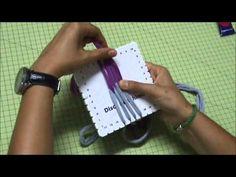 ▶ Pulsera de trapillo con disco cuadrado Kumihimo - YouTube