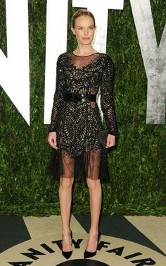 Kate Bosworth in Prabal Gurung Fall 2012 at the Vanity Fair #Oscars after-party