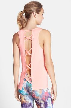 ONZIE Crisscross Back Tank available at #Nordstrom