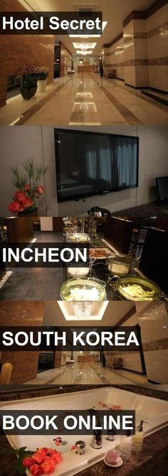 Hotel Secret in Incheon, South Korea. For more information, photos, reviews and best prices please follow the link. #SouthKorea #Incheon #travel #vacation #hotel