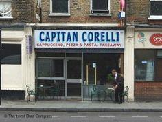 Captain Corelli, 132 Battersea Park Road, London