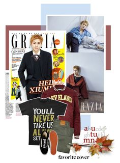 """""""2017.190 : Xiumin"""" by oh-pororo ❤ liked on Polyvore featuring River Island, Tom Ford, Vans, men's fashion, menswear, EXO, grazia and xiumin"""