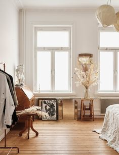 Natural Materials in a Calm Swedish Apartment - The Nordroom