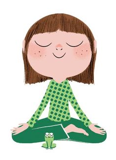 Sitting Still Like a Frog, Mindfulness Exercises for Kids (and their Parents)A Book By Eline Snel Mindfulness For Kids, Mindfulness Activities, Teaching Mindfulness, Yoga For Kids, Exercise For Kids, Therapy Activities, Activities For Kids, Learning Activities, Stem Activities