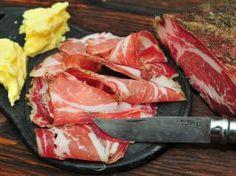 Recept na sušenú krkovičku? Zvládnete to aj vy (coppa) Sous Vide, Food 52, Charcuterie, Chorizo, Grilling, Food And Drink, Beef, Homemade, Baking