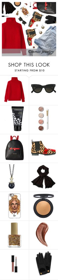 """What's Your Sign: Cosmic Jewelry *Leo*"" by the92liner ❤ liked on Polyvore featuring Vanessa Bruno, CÉLINE, Cowshed, Terre Mère, Love Moschino, House of Holland, Stephen Webster, Emanuel Ungaro, Casetify and Topshop"