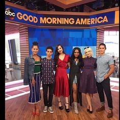 Descendants2 Going DOWN and Going LIVE tomorrow morning on @goodmorningamerica with @dovecameron @thecameronboyce @sofiacarson #booboostewart @chinamcclain @dianneldoan See ya there #descenders ❌❗️