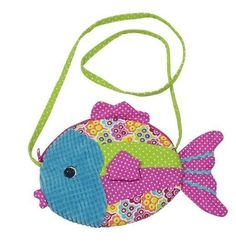 Love this little fishy purse for a gift!!!