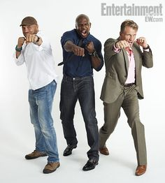 RANDY COUTURE, TERRY CREWS, DOLPH LUNDGREN, Expendables 2