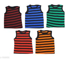 Innerwear Cute Cotton Kids Vest (Pack of 5) Fabric: Cotton Sleeves: Sleeves Are Not Included Size: Age Group (0 Months - 3 Months) - 10 in Age Group (3 Months - 6 Months) - 12 in Age Group (6 Months - 9 Months) - 12 in Age Group (9 Months - 12 Months) - 14 in Age Group (12 Months - 18 Months) - 16 in Age Group (18 Months - 24 Months) - 18 in Age Group (2 - 3 Years) - 20 in Age Group (3 - 4 Years) - 22 in Age Group (4 - 5 Years) - 24 in Type: Stitched Description: It Has 5 Pieces of Kids Vest Work: Printed Sizes Available: 0-3 Months, 0-6 Months, 3-6 Months, 6-9 Months, 6-12 Months, 9-12 Months, 12-18 Months, 18-24 Months, 0-1 Years, 1-2 Years, 2-3 Years, 3-4 Years, 4-5 Years, 5-6 Years *Proof of Safe Delivery! Click to know on Safety Standards of Delivery Partners- https://ltl.sh/y_nZrAV3  Catalog Rating: ★4.1 (4127)  Catalog Name: Kids' Vest Pack Of 5 CatalogID_167403 C59-SC1187 Code: 091-1309590-