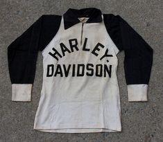 Vintage Harley Davidson Racing Jersey