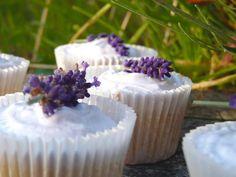 Lavander cupcakes