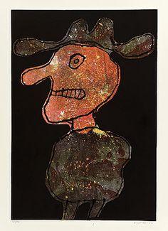 lithographie de Jean Dubuffet