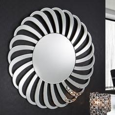 Miroir deco design rond mirror зеркало, домашний декор ve декор. 3d Mirror, Wall Mirrors, Spiegel Design, Full Length Mirror Wall, Metal Wall Art Decor, Glass Vanity, Diy Canvas Art, Mandala, Deco Design