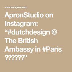 """ApronStudio on Instagram: """"#dutchdesign @  The British Ambassy in #Paris 🇾🇪🇬🇧🇫🇷"""" Copper Color, Flamingo, Apron, British, Instagram, Flamingo Bird, Flamingos, Aprons"""